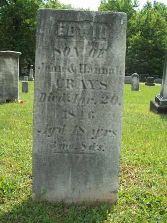 CRAYS, EDWIN - Trumbull County, Ohio | EDWIN CRAYS - Ohio Gravestone Photos