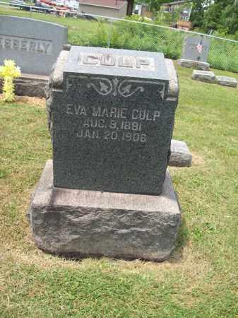 CULP, EVA MARIE - Trumbull County, Ohio   EVA MARIE CULP - Ohio Gravestone Photos