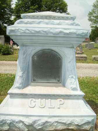 CULP, THOMAS R. - Trumbull County, Ohio | THOMAS R. CULP - Ohio Gravestone Photos