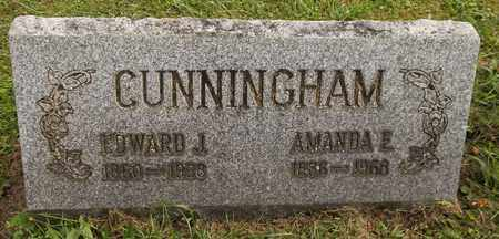 CUNNINGHAM, EDWARD J. - Trumbull County, Ohio | EDWARD J. CUNNINGHAM - Ohio Gravestone Photos