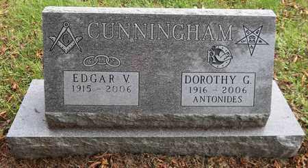 CUNNINGHAM, EDGAR V. - Trumbull County, Ohio | EDGAR V. CUNNINGHAM - Ohio Gravestone Photos