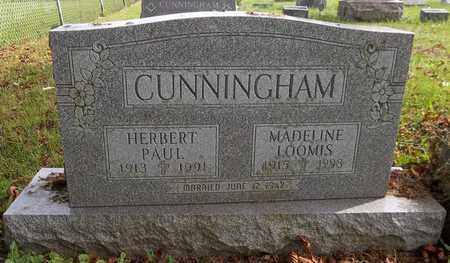 CUNNINGHAM, HERBERT PAUL - Trumbull County, Ohio | HERBERT PAUL CUNNINGHAM - Ohio Gravestone Photos