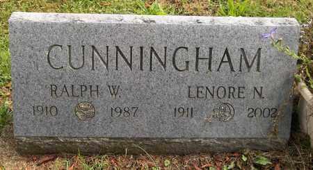 CUNNINGHAM, LENORE N. - Trumbull County, Ohio | LENORE N. CUNNINGHAM - Ohio Gravestone Photos