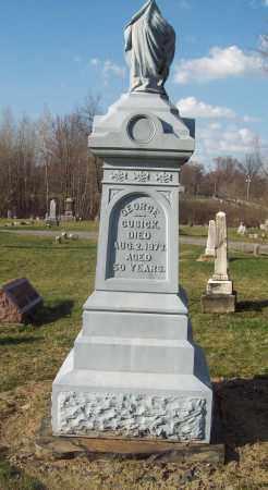 CUSICK, GEORGE - Trumbull County, Ohio | GEORGE CUSICK - Ohio Gravestone Photos
