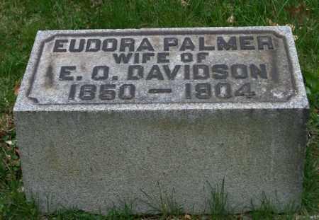 PALMER DAVIDSON, EUDORA - Trumbull County, Ohio | EUDORA PALMER DAVIDSON - Ohio Gravestone Photos