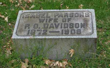 DAVIDSON, ISABEL - Trumbull County, Ohio | ISABEL DAVIDSON - Ohio Gravestone Photos