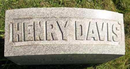 DAVIS, HENRY - Trumbull County, Ohio | HENRY DAVIS - Ohio Gravestone Photos