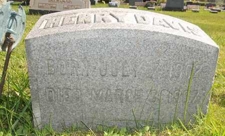 DAVIS, HENRY - Trumbull County, Ohio   HENRY DAVIS - Ohio Gravestone Photos