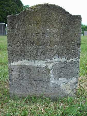DAVIS, MARY ANN - Trumbull County, Ohio | MARY ANN DAVIS - Ohio Gravestone Photos