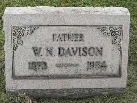 DAVISON, W. N. - Trumbull County, Ohio | W. N. DAVISON - Ohio Gravestone Photos