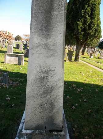 DAY, MARILLA - Trumbull County, Ohio   MARILLA DAY - Ohio Gravestone Photos