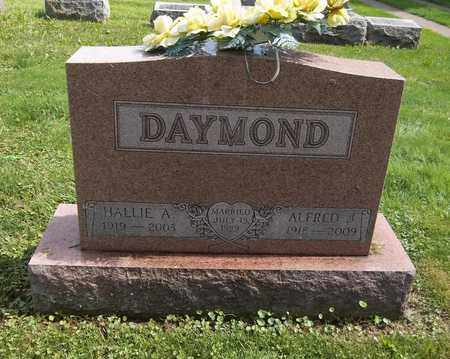 DAYMOND, HALLIE A. - Trumbull County, Ohio | HALLIE A. DAYMOND - Ohio Gravestone Photos