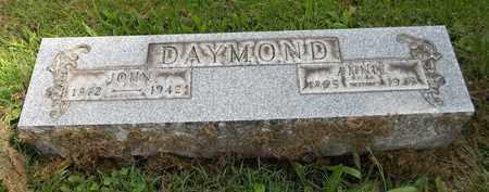 DAYMOND, JOHN - Trumbull County, Ohio | JOHN DAYMOND - Ohio Gravestone Photos