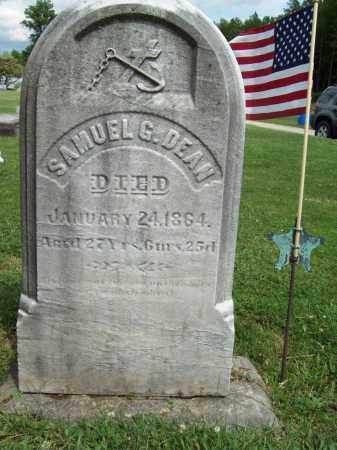 DEAN, SAMUEL G. - Trumbull County, Ohio | SAMUEL G. DEAN - Ohio Gravestone Photos