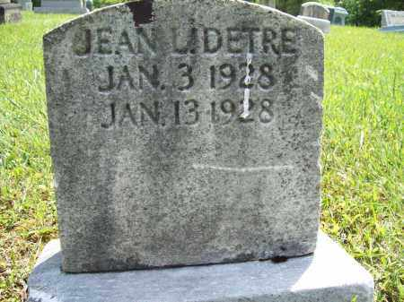 DETRE, BETTY JANE - Trumbull County, Ohio | BETTY JANE DETRE - Ohio Gravestone Photos