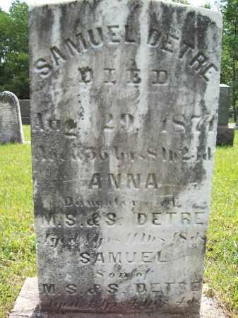DETRE, SAMUEL - Trumbull County, Ohio | SAMUEL DETRE - Ohio Gravestone Photos
