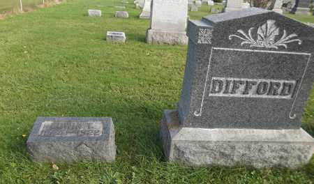 DIFFORD, EDWIN T. - Trumbull County, Ohio   EDWIN T. DIFFORD - Ohio Gravestone Photos