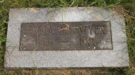 DWYER, EMMA M. - Trumbull County, Ohio | EMMA M. DWYER - Ohio Gravestone Photos