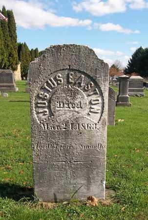 EASTON, JUSTUS - Trumbull County, Ohio   JUSTUS EASTON - Ohio Gravestone Photos