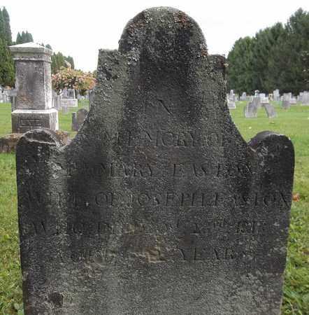 EASTON, MARY - Trumbull County, Ohio | MARY EASTON - Ohio Gravestone Photos