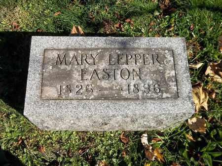 LEPPER EASTON, MARY - Trumbull County, Ohio | MARY LEPPER EASTON - Ohio Gravestone Photos