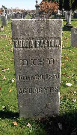 EASTON, RHODA - Trumbull County, Ohio | RHODA EASTON - Ohio Gravestone Photos