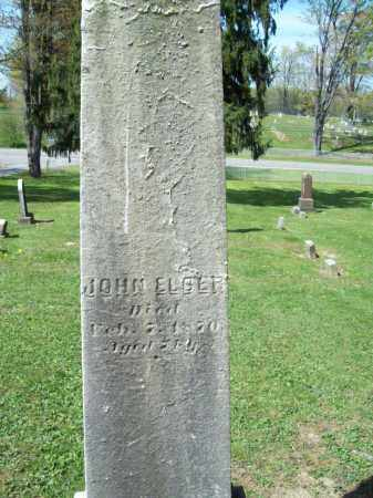 ELDER, JOHN - Trumbull County, Ohio | JOHN ELDER - Ohio Gravestone Photos