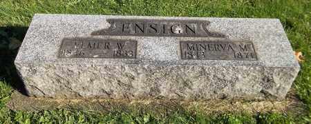 ENSIGN, MINERVA M. - Trumbull County, Ohio | MINERVA M. ENSIGN - Ohio Gravestone Photos