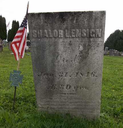 ENSIGN, SHALOR L. - Trumbull County, Ohio | SHALOR L. ENSIGN - Ohio Gravestone Photos