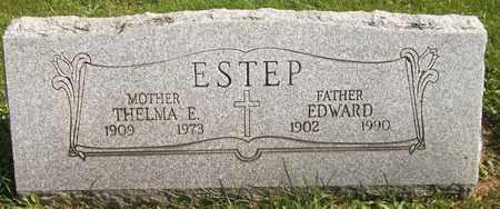 ESTEP, THELMA E. - Trumbull County, Ohio | THELMA E. ESTEP - Ohio Gravestone Photos