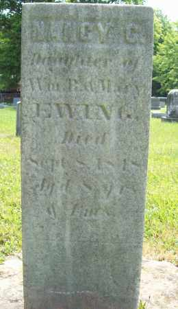 EWING, NANCY C. - Trumbull County, Ohio | NANCY C. EWING - Ohio Gravestone Photos