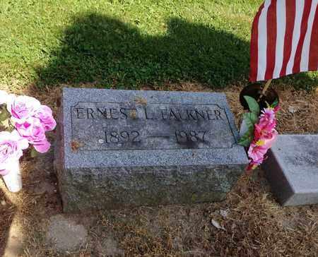 FALKNER, ERNEST LLEWELLYN - Trumbull County, Ohio | ERNEST LLEWELLYN FALKNER - Ohio Gravestone Photos