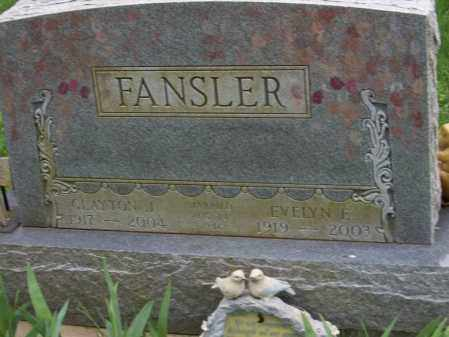 FANSLER, CLAYTON - Trumbull County, Ohio | CLAYTON FANSLER - Ohio Gravestone Photos
