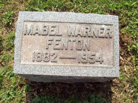 FENTON, MABEL - Trumbull County, Ohio | MABEL FENTON - Ohio Gravestone Photos