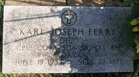 FERRY, KARL JOSEPH - Trumbull County, Ohio | KARL JOSEPH FERRY - Ohio Gravestone Photos