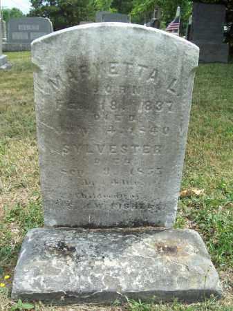 FISHEL, MARY ETTA L. - Trumbull County, Ohio | MARY ETTA L. FISHEL - Ohio Gravestone Photos