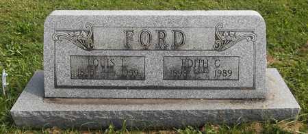 FORD, EDITH C. - Trumbull County, Ohio | EDITH C. FORD - Ohio Gravestone Photos