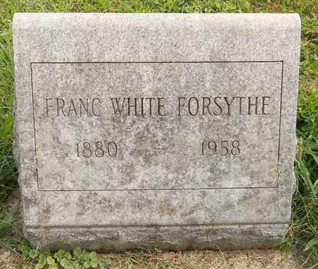 WHITE FORSYTHE, FRANC - Trumbull County, Ohio | FRANC WHITE FORSYTHE - Ohio Gravestone Photos
