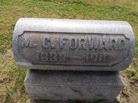 FORWARD, MARIA C. - Trumbull County, Ohio | MARIA C. FORWARD - Ohio Gravestone Photos