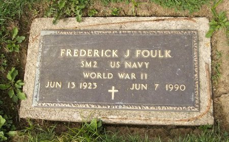 FOULK, FREDERICK J. - Trumbull County, Ohio | FREDERICK J. FOULK - Ohio Gravestone Photos