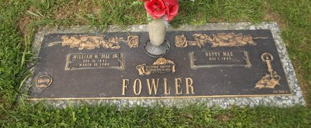 FOWLER, WILLIAM W. - Trumbull County, Ohio | WILLIAM W. FOWLER - Ohio Gravestone Photos