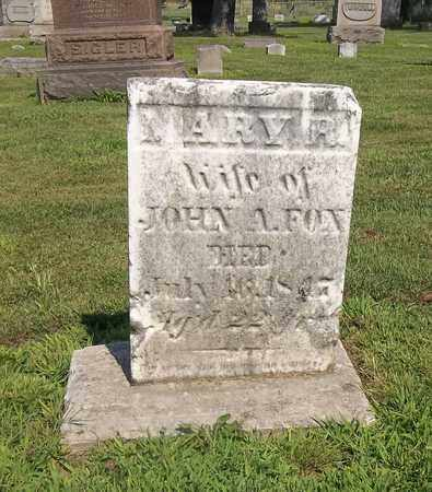 FOX, MARY A. - Trumbull County, Ohio | MARY A. FOX - Ohio Gravestone Photos