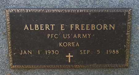 FREEBORN, ALBERT E. - Trumbull County, Ohio | ALBERT E. FREEBORN - Ohio Gravestone Photos