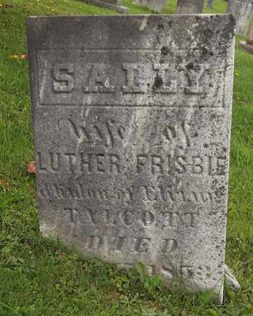 FRISBIE, SALLY - Trumbull County, Ohio | SALLY FRISBIE - Ohio Gravestone Photos