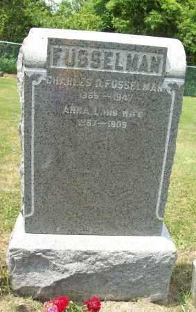 FUSSELMAN, CHARLES DAVID - Trumbull County, Ohio | CHARLES DAVID FUSSELMAN - Ohio Gravestone Photos