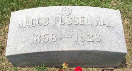 FUSSELMAN, JACOB - Trumbull County, Ohio | JACOB FUSSELMAN - Ohio Gravestone Photos