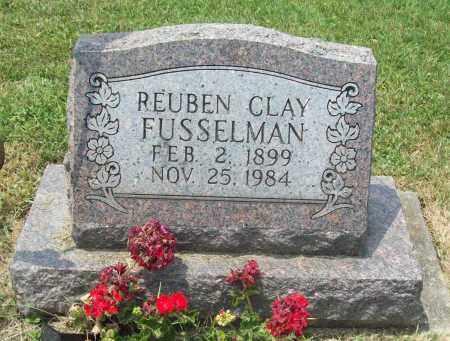 FUSSELMAN, REUBEN CLAY - Trumbull County, Ohio | REUBEN CLAY FUSSELMAN - Ohio Gravestone Photos