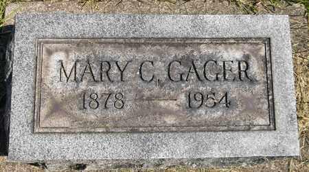 GAGER, MARY C. - Trumbull County, Ohio | MARY C. GAGER - Ohio Gravestone Photos
