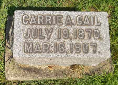 GAIL, CARRIE A. - Trumbull County, Ohio | CARRIE A. GAIL - Ohio Gravestone Photos