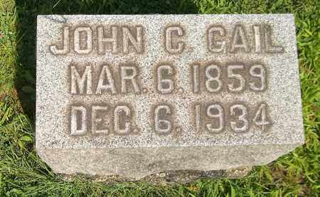 GAIL, JOHN C. - Trumbull County, Ohio | JOHN C. GAIL - Ohio Gravestone Photos